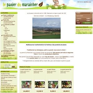 Le panier du maraicher paniers bio livr s strasbourg - Panier legumes strasbourg ...
