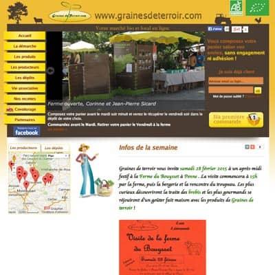 84c224a4358 Graines de terroir – vente de produits bio par les producteurs de  Midi-Quercy