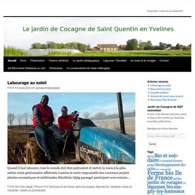 Jardin de cocagne de saint quentin en yvelines for Oasis jardin de cocagne