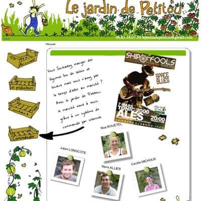 Le jardin de petitou paniers produits de la ferme dans - Les produits menagers utilises dans le jardin ...